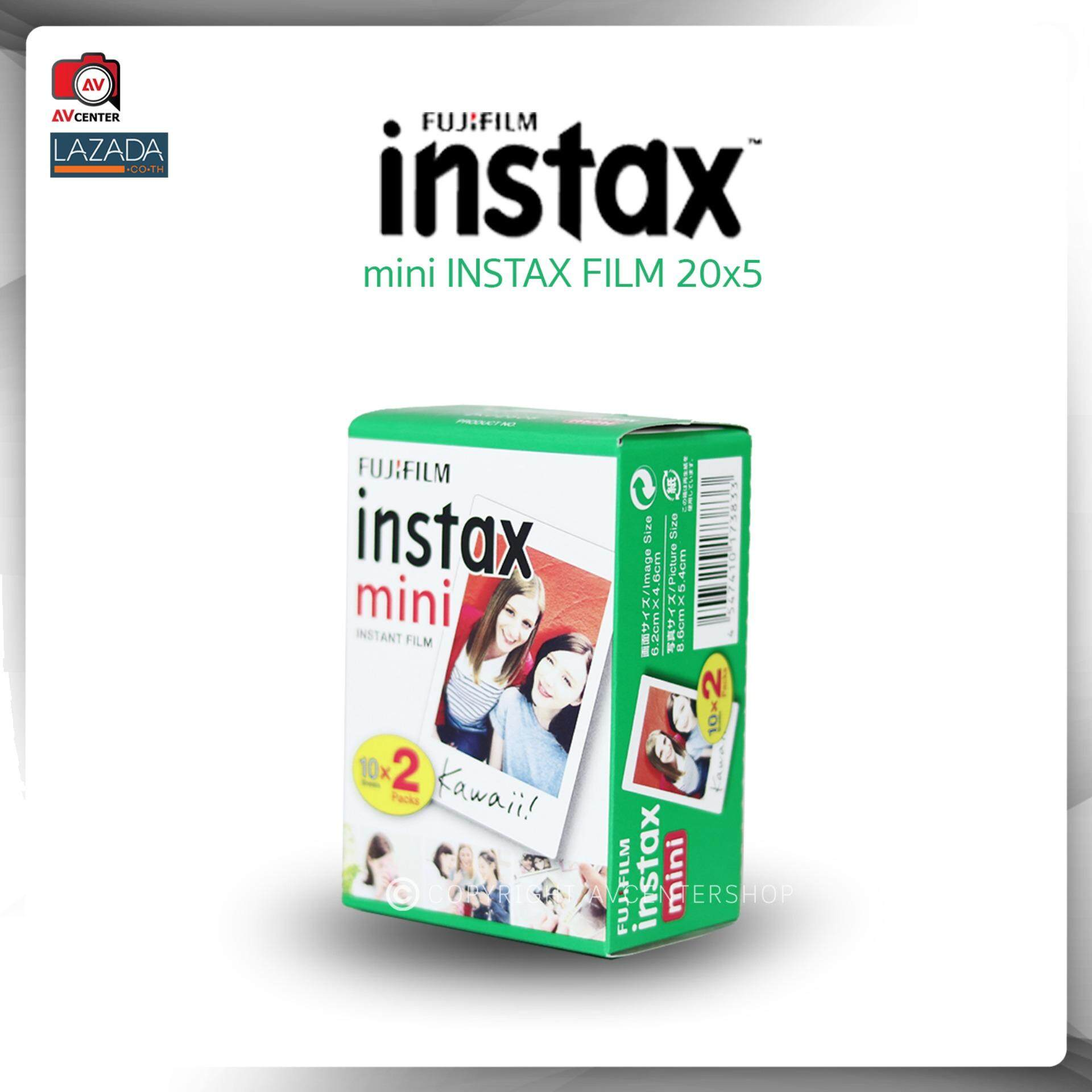 Fujifilm Instax Mini Film 20 แผ่น (10x2)