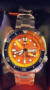on sale 312d6 3cf80 แนะนำ SEIKO Prospex เต่าส้ม Orange Turtle ASIA SRPC95K1 ...
