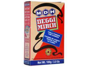 MDH Deggi Mirch (Bright Red Chilli Powder) 100gm