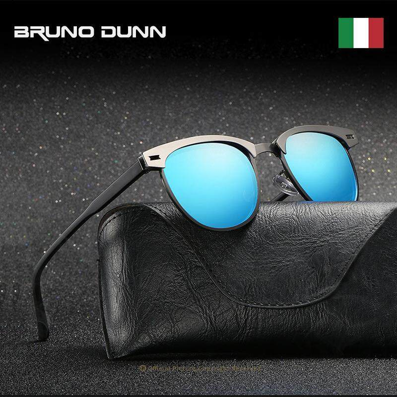 Bruno Dunn TOP Brand designer men Women unisex Sunglasses 2018 HD Polarized Lens Vintage Eyewear for driving male female 0911