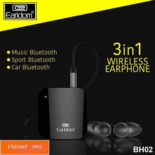 ส่งฟรี เครื่องเสียงและโฮมเธียร์เตอร์ earldom Earldom รุ่น BH02 Sport Clip on Bluetooth หูฟังบลูทูธ แบบคลิป เคลมสินค้าได้
