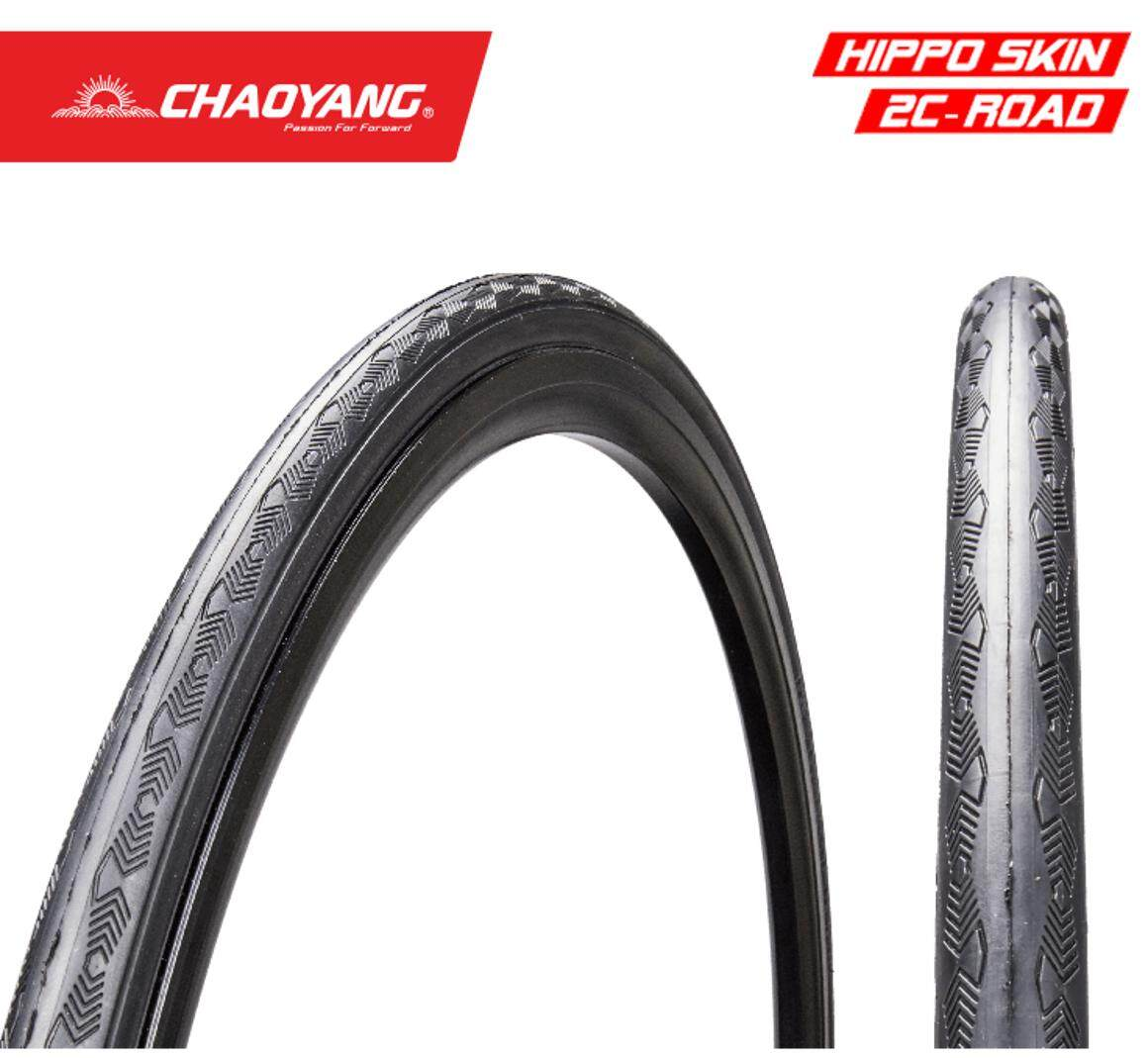 1x CHAOYANG Attack Pard 700x25 HippoSkin 30Tpi Road Bike Bicycle Tyre [W311123] ยางรถจักรยาน