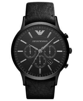 นาฬิกาข้อมือผู้ชาย EMPORIO ARMANI Sportivo Chronograph Black Dial Men's Watch AR2461