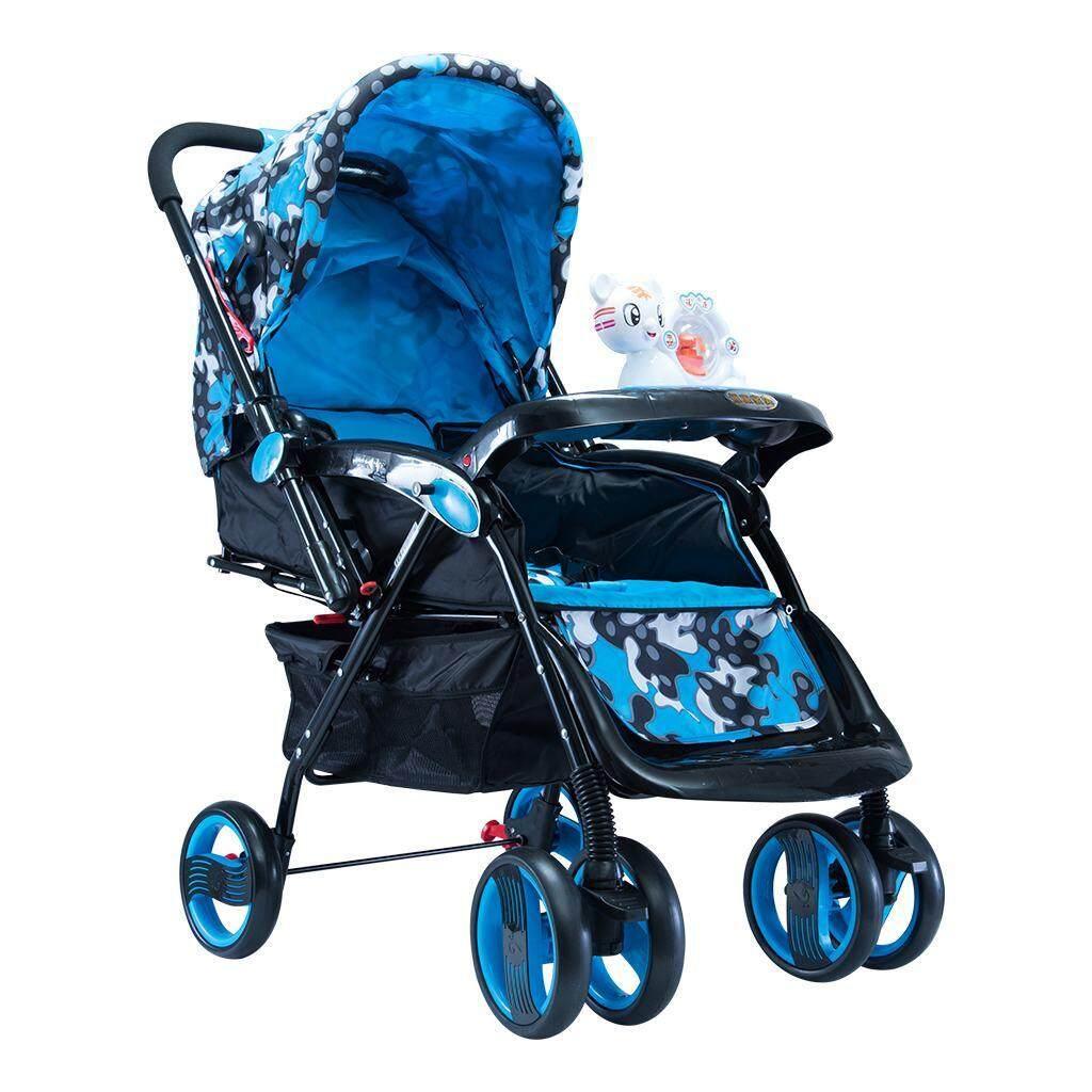 เช็คข้อมูล Comfortable รถเข็นเด็กแบบนอน ทองเด็กรถเข็นเด็กสูงแนวนอนสามารถพับพับผู้ให้บริการทารก ทารก แม่เด็กรถเข็นรถเข็นเด็ก เก็บเงินปลายทาง ส่งฟรี