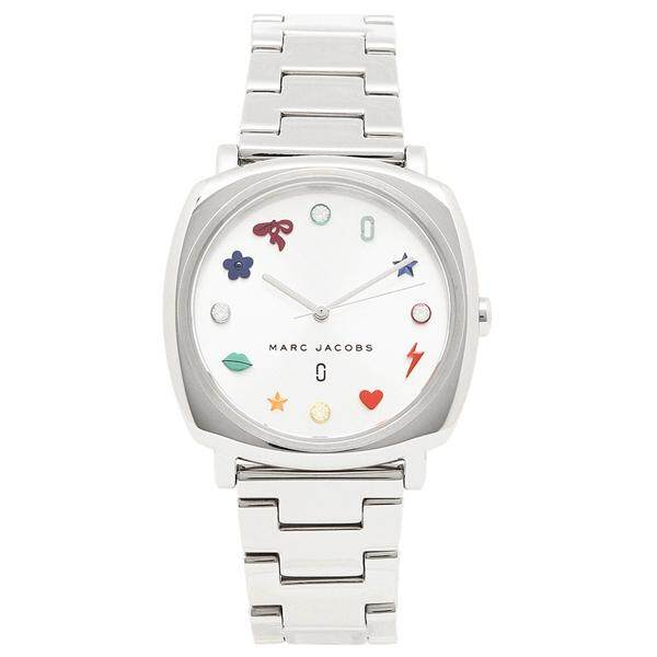 นาฬิกาผู้หญิง Marc By Marc Jacobs Mandy Sliver Dial Ladies Watch MJ3548