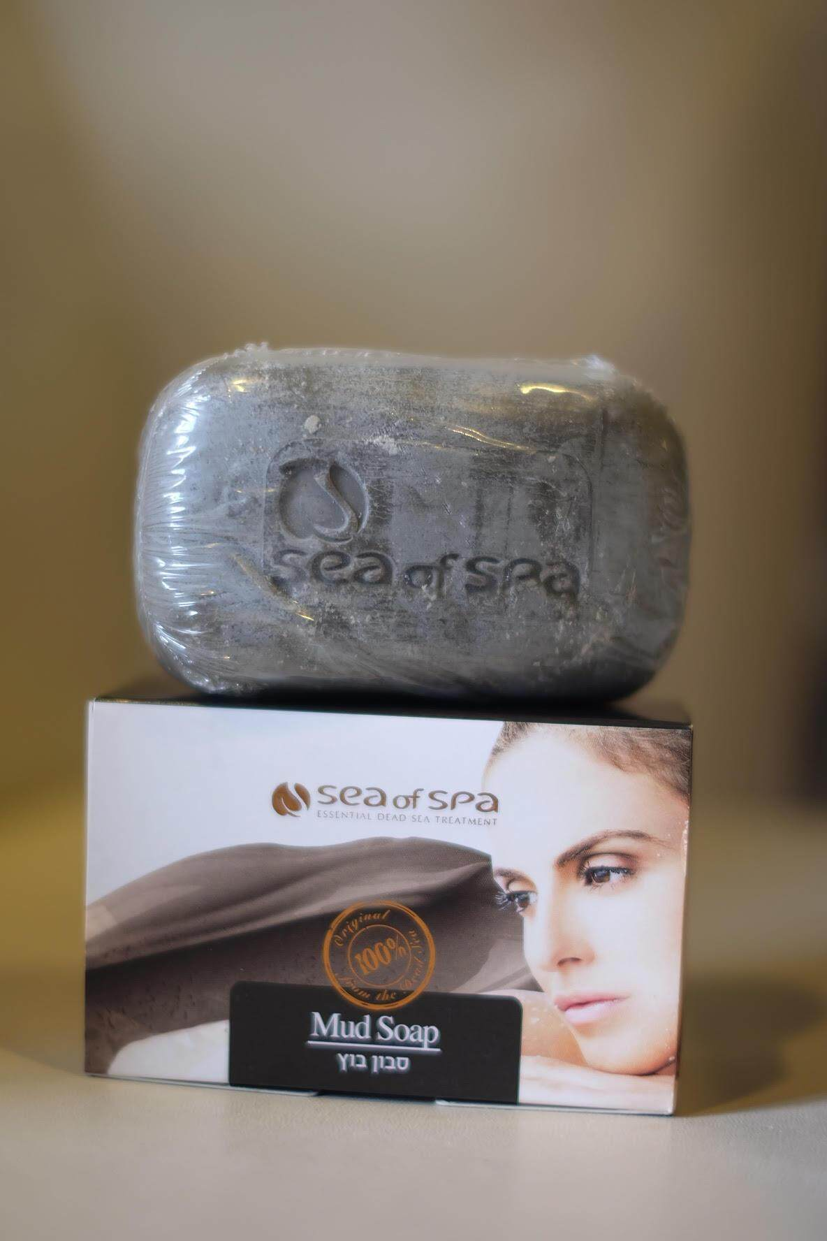 Mud Soap - Original from Dead sea สบู่จากแร่ธาตุโคลนดำทะเลสาบเดดซี 100%