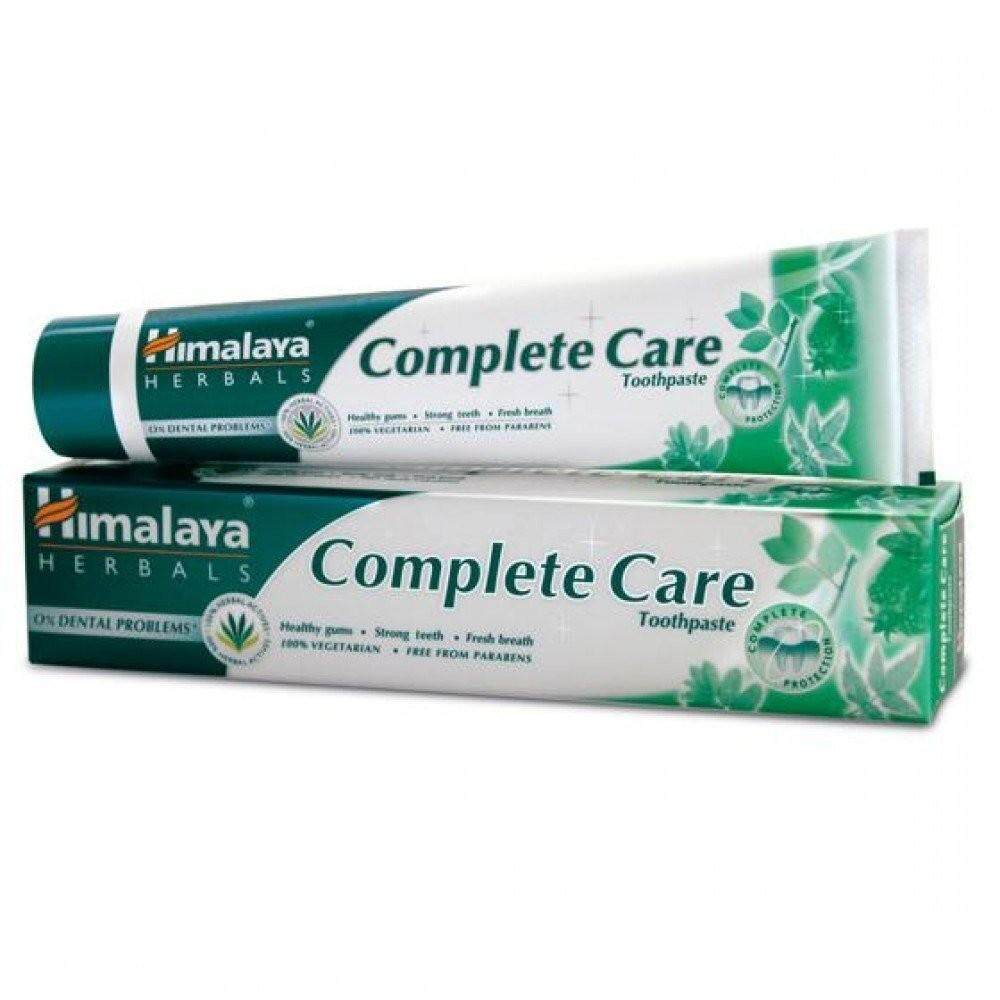 ยาสีฟันสมุนไพร Himalaya Complete Care ลดอาการเหงือกอักเสบ 80 G.