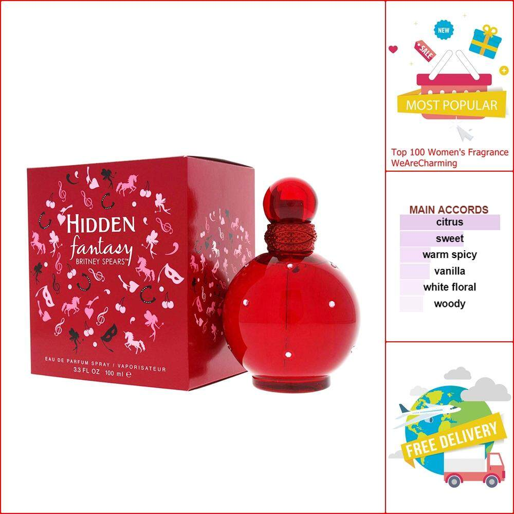Britney Spears Hidden Fantasy EDP 100 ml.