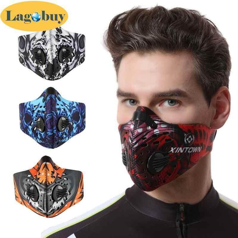 Breathable Face ป้องกันหน้ากาก - หน้ากากกันฝุ่น Breathable Anti FOG Activated Carbon ป้องกันฝุ่น - INTL