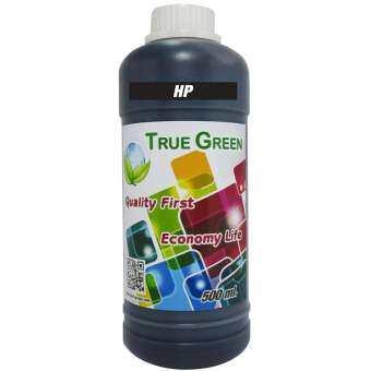 True Green หมึกเติม HP inkjet  Refill 500 ml - Black-