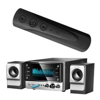 ตัวรับสัญญาณบูลทูธ บลูทูธในรถยนต์ เปลี่ยนลำโพงธรรมดาเป็นลำโพงบูลทูธ Car  Bluetooth AUX 3 5mm Jack Bluetooth Receiver Handsfree Call Bluetooth  Adapter