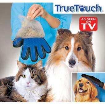 truetouch ถุงมือลูบขนสัตว์มหัศจรรย์-