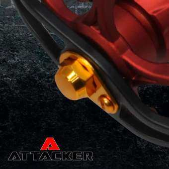 ชุดแต่งรอก มือหมุน ATTACKER REEL DRESS ALUMINUM KNOB HIGH QUALITY (RIGHT HAND)