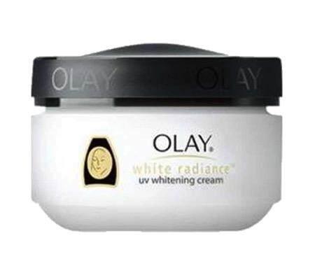 OLAY White Radiance UV Whitening Cream โอเลย์ไวท์เรเดียนซ์ ยูวีไวทเทนนิ่ง ครีมบำรุงเพื่อผิวหน้าขาว 50ml.
