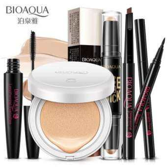 BIOAQUA BB Cream Rorec Play 101 Stick Eyebrow Mascara Eyeliner Beauty Makeup Set