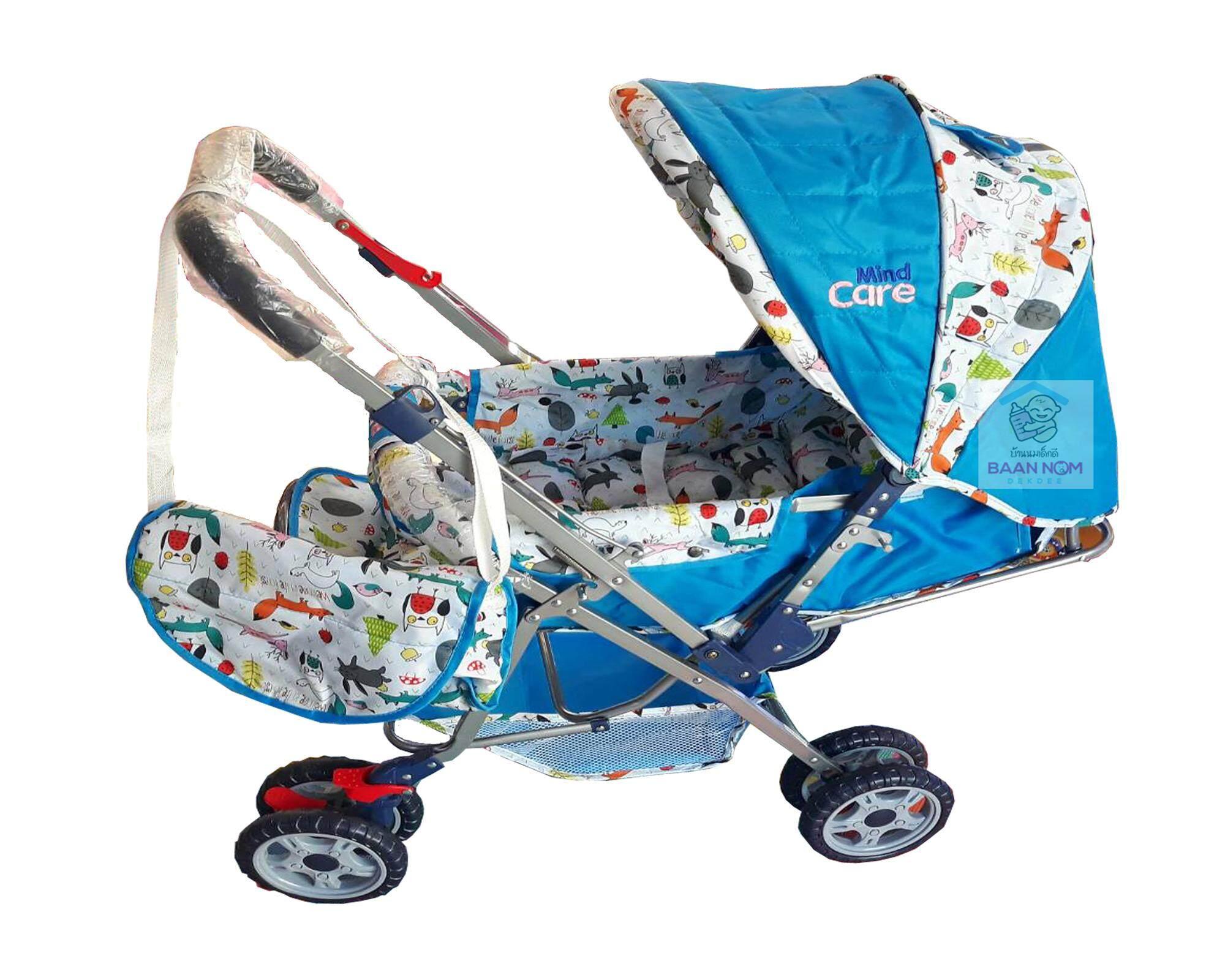 โปรโมชั่นลดราคา Fico รถเข็นเด็กแบบนอน รถเข็นเด็ก Fico รุ่น California: D288 สีน้ำเงิน มีคูปองส่วนลด