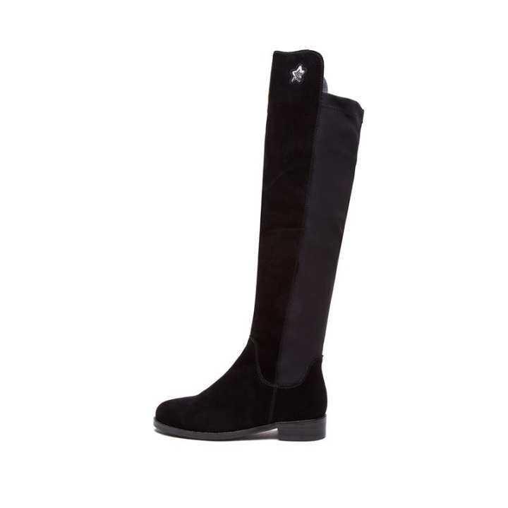 l'hiver doux hotwind mode style de de de bottes pour dames slimming tête ronde loisirs bottes cuissardes h85w7802 là a610e6