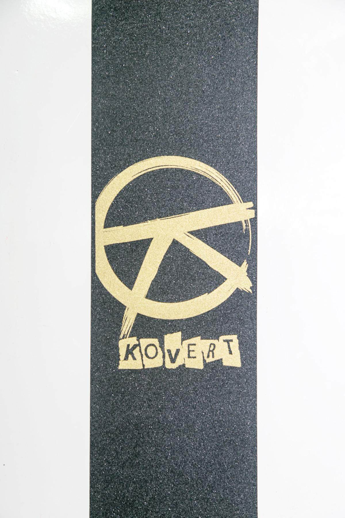"Anar ""K"" Gold Logo Grip Tape"