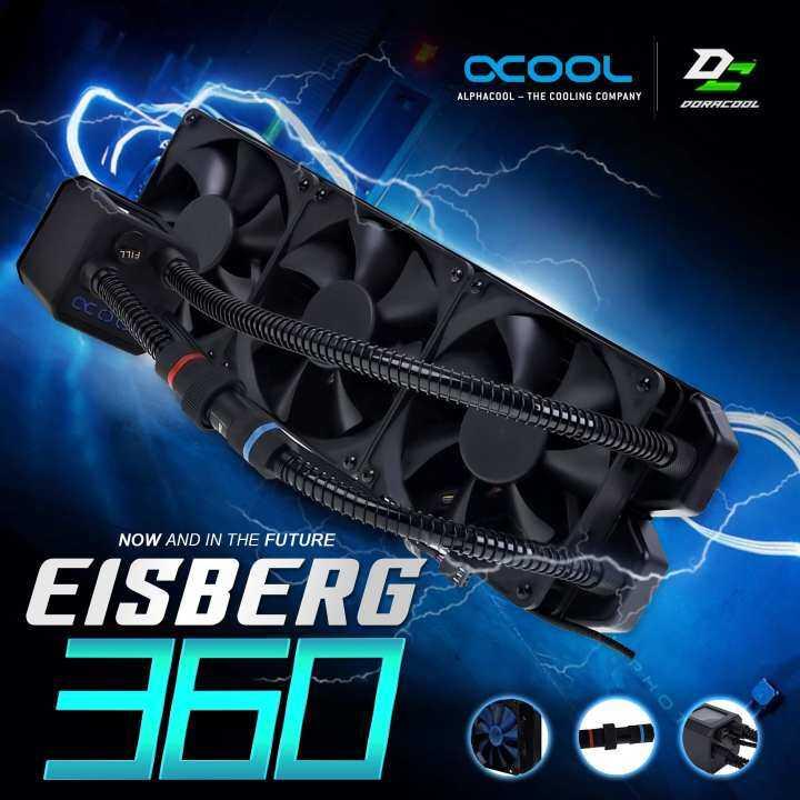 Alphacool Eisbaer 360 CPU Black