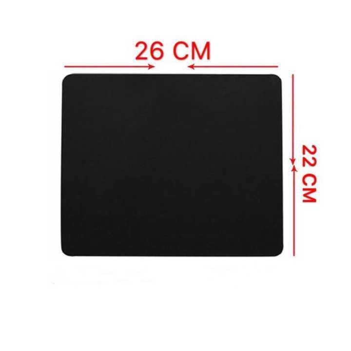 Surface แผ่นรองเมาส์ Mouse PAD (แบบผ้า) Surface-1030 (BLACK) 26X22CM