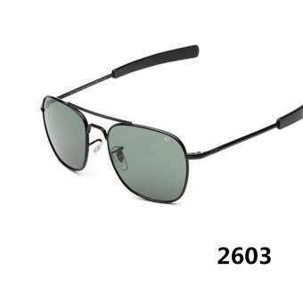 ยุโรปและสหรัฐอเมริกาแนวโน้มของแว่นตากันแดดใหม่ผู้ชายโลหะภาชนะเก็บอาหารแว่นตากันแดด, แว่นตากันแดด AO-