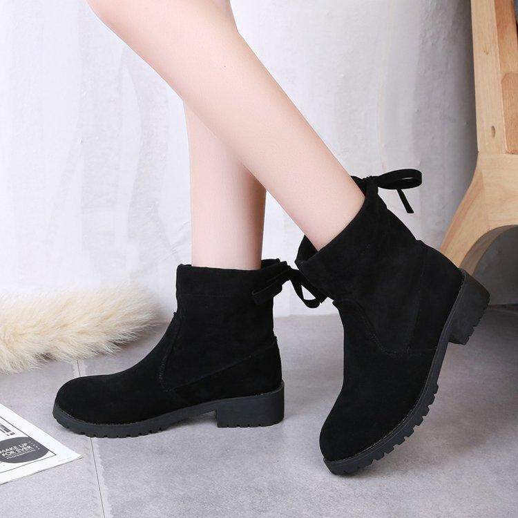 special section dirt cheap 2018 shoes Martin Boots Female 2018 New Style Short Boots England Students ...