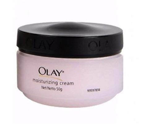 OLAY Moisturising Cream for Sensitive Skin โอเลย์ มอยเจอร์ไรซิ่ง ครีม สูตรอ่อนโยน 50ml.