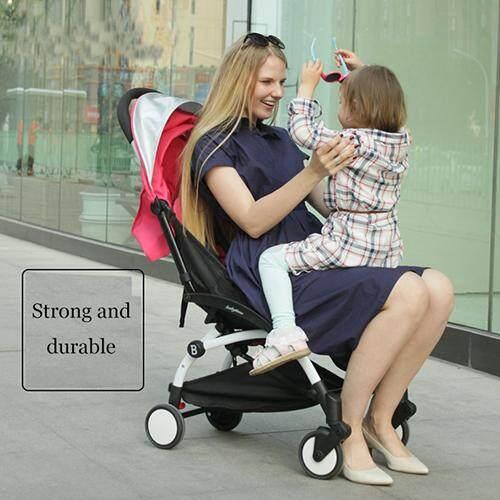อยากถามคนที่ใช้ Sweet Heart Paris รถเข็นเด็กแบบนอน Sweet Heart Paris BG829 Stroller รถเข็นเด็ก with Durable Polyester Canvas Buggy Stroller with Umbrella Fold ยอดขายอันดับ 1
