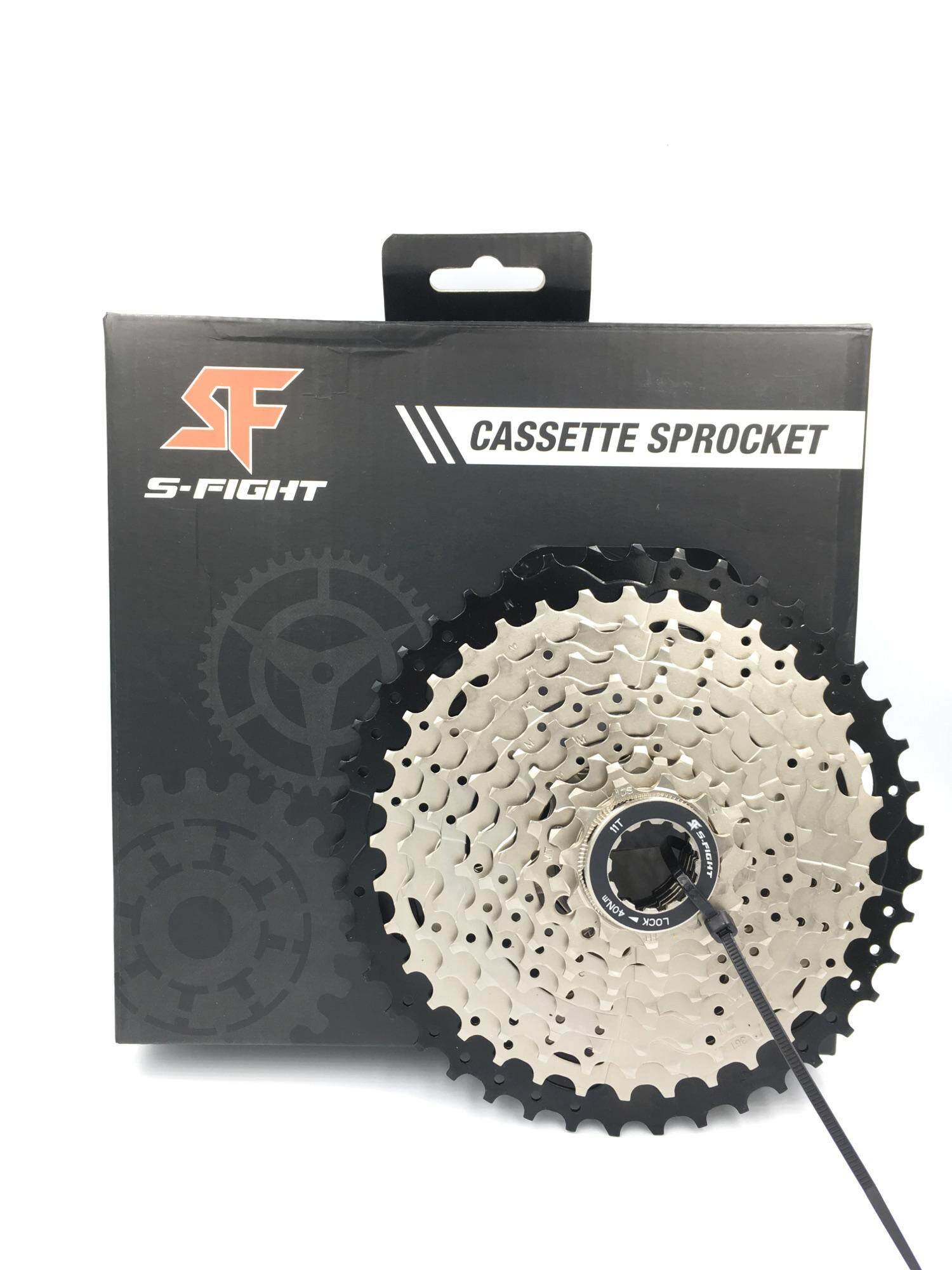 สเตอร์เฟือง S-fight Cassette, 9 Speed 11-40T Bicycle Road/MTB