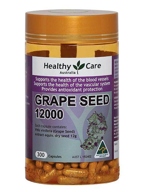 Healthy care grape seed 12000 mg