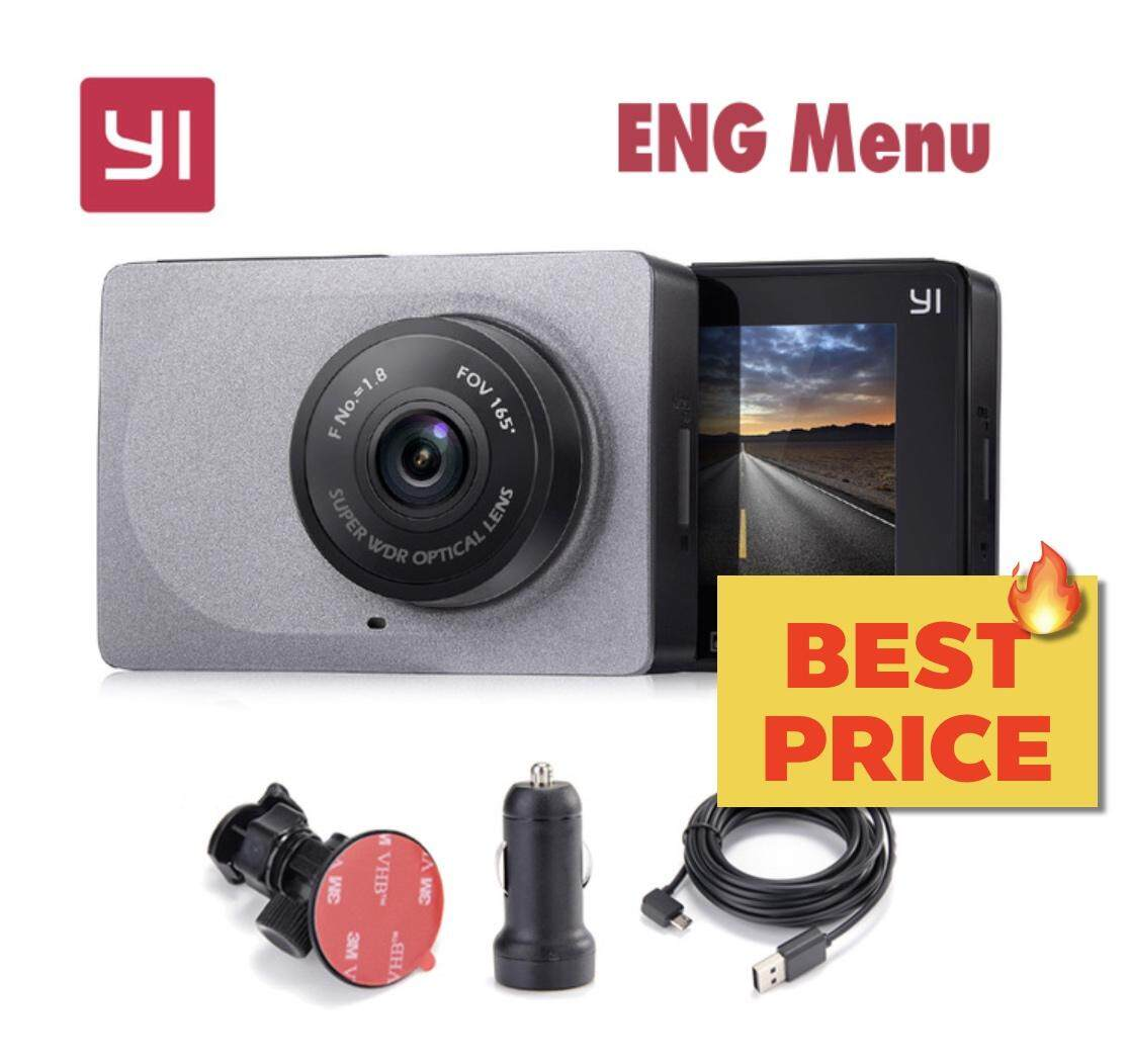 กล้องติดหน้ารถยนต์ Yi Dash Cam เมนู ENG