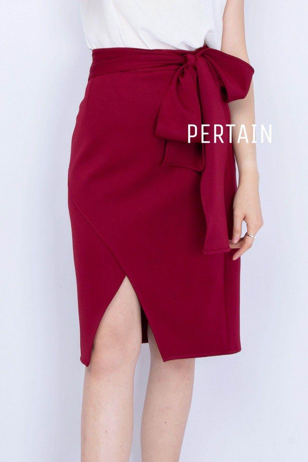 Veda Skirt - Burgundy