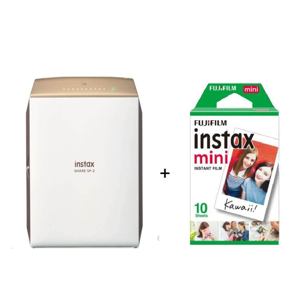 Fujifilm Instax Share SP-2 (Gold) + Film 10 sheets
