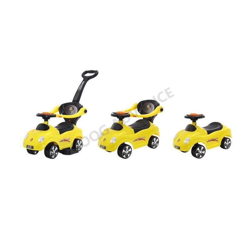 แนะนำ Rctoystory รถเข็นเด็กสามล้อ Rctoystory  รถเข็นเด็ก สามล้อ เข็น แบบพกพา พับได้ สีขาว ลดราคาเกินครึ่ง