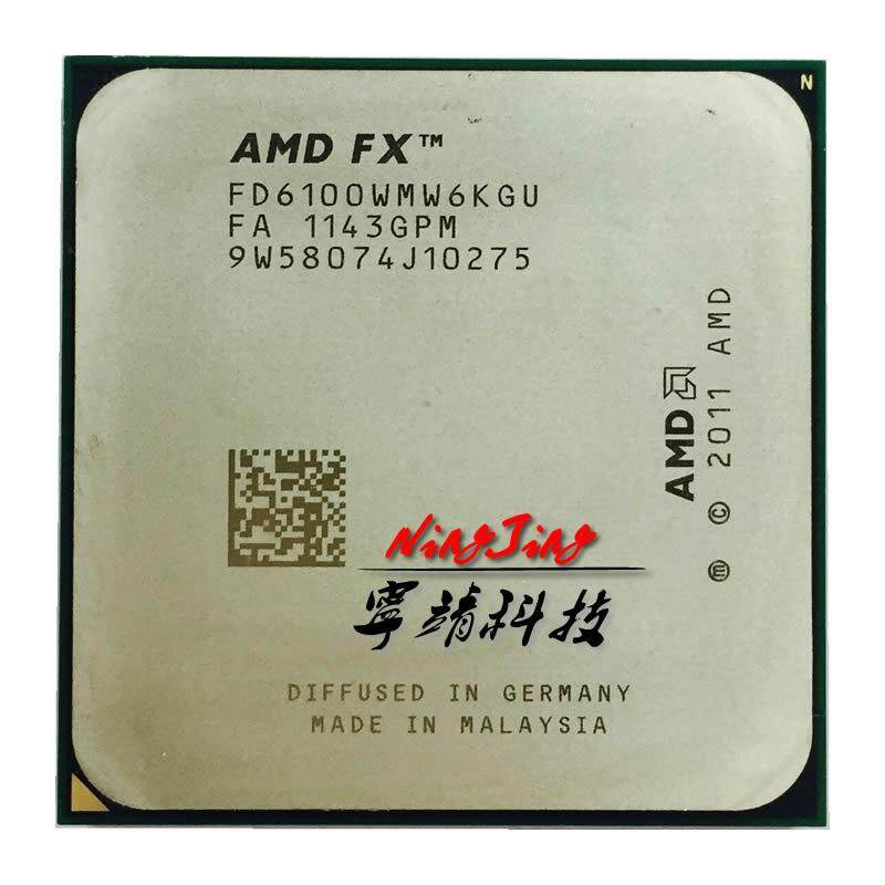 AMD FX-Series FX 6100 3.3 GHz Six-Core CPU Processor FD6100WMW6KGU Socket AM3+ LLY Store