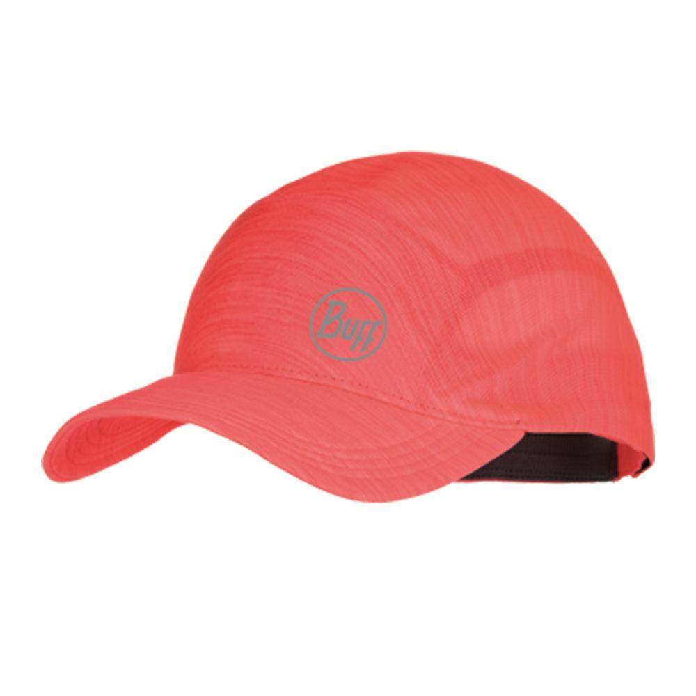 BUFF ONE TOUCH CAP หมวกวิ่ง หมวก สี : Flamingo Pink Size Int :  One size