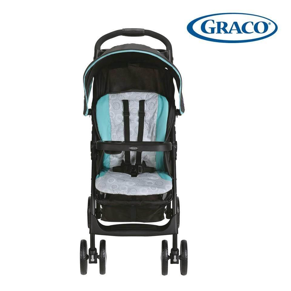 รีวิว BEST รถเข็นเด็กแบบนอน High Quality Baby Stroller Pram ที่นั่งสูง น้ำหนักเบา รถเข็นเด็กพับได้ พกพาง่าย ถือขึ้นเครื่องเดินทางสะดวกสบาย ปรับได้ 3 ระดับ -R12 อ่านรีวิวจากผู้ซื้อจริง
