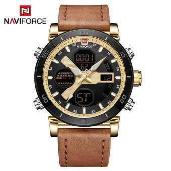 ((ประกันศูนย์ไทย)) NAVIFORCE WATCH นาฬิกาข้อมือผู้ชาย เครื่องญี่ปุ่น กันน้ำ100% ใช้ได้จริงทุกเข็ม รุ่น NF9132-