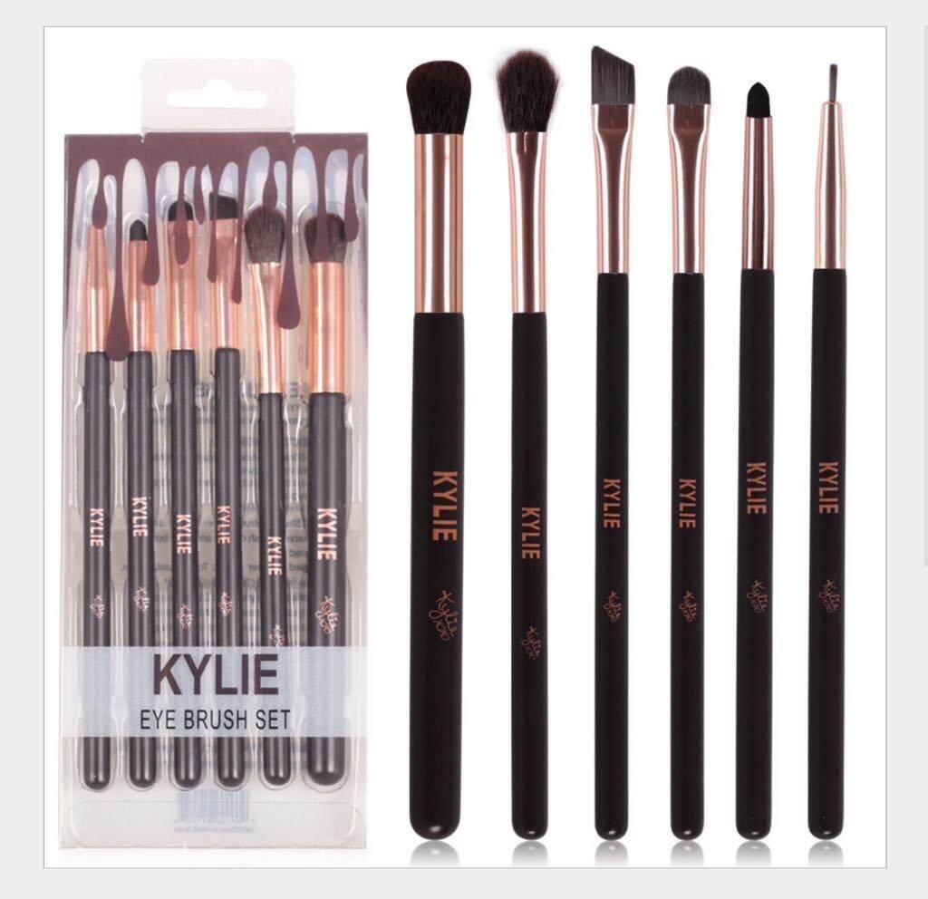 Kylie Starter Kit แปรงแต่งตา 6 ชิ้นพื้นฐาน