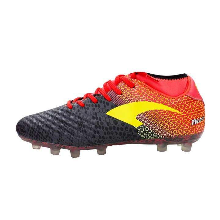 Grand sport รองเท้าฟุตบอลแกรนด์สปอร์ต รุ่น ฟีโลนี่ # FELONY(333084)(สีดำ)