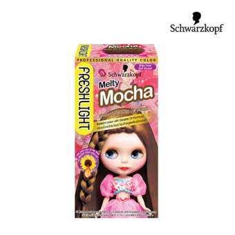 แนะนำ Schwarzkopf Fresh Light Milky Color MELTY MOCHA ชวาร์สคอฟ เฟรชไลท์ มิลค์กี้ น้ำตาลมอคค่า