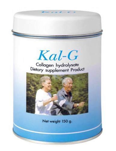 Kal G แคล จี ปริมาณสุทธิ 150 กรัมต่อกระป๋อง บำรุงข้อ สามารถลดอาการปวดบริเวณข้อ