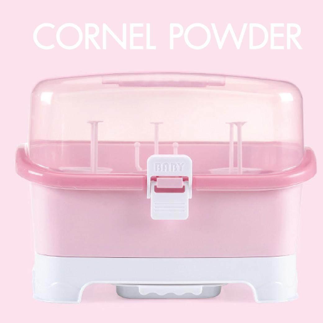 แนะนำ Baby'n goods กล่องอุปกรณ์ที่คว่ำขวดนม สีชมพู