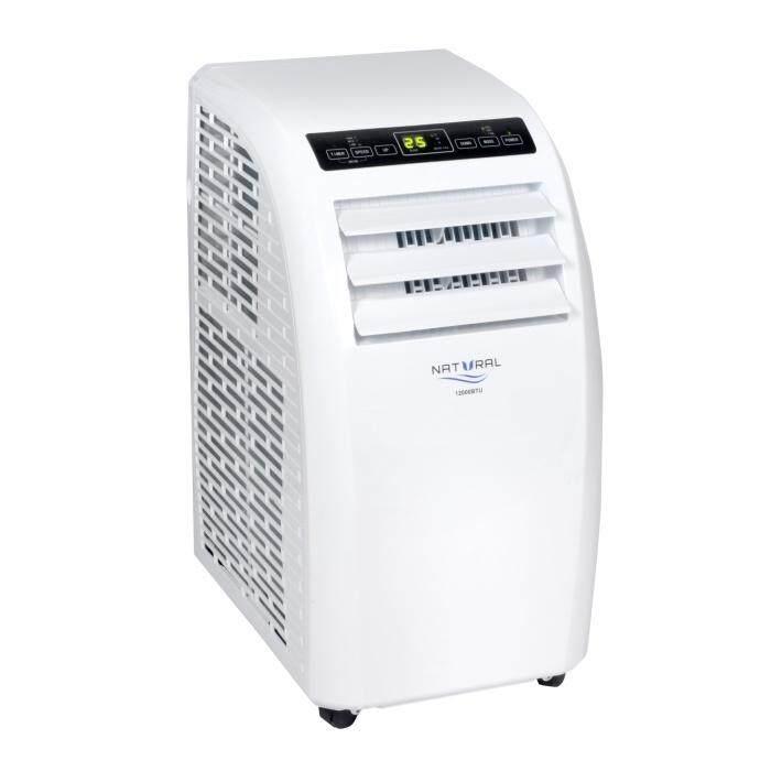 Air conditioner แอร์เคลื่อนที่ ยี่ห้อ Natural 9,000 BTU รับประกันศูนย์