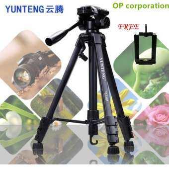 YUNTENG VCT-668 ขาตั้งกล้อง ขาตั้งมือถือ 3ขา tripod for camera DV Professional Photographic equipment Gimbal Head new - intl-
