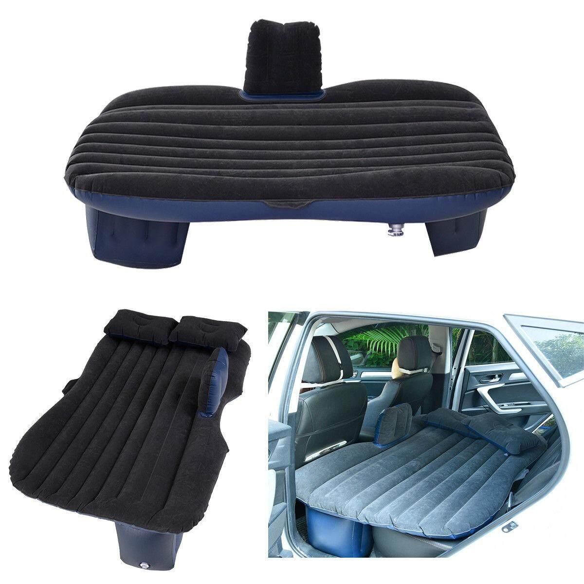 Daily buy ที่นอนอเนกประสงค์ในรถ ‼️ลดราคาสุตสุต‼️ เบาะนอนในรถ เบาะเป่าลม ผิวกำมะหยี่ ฟรีหมอน2ใบ+ปั้มสูบลม สีดำ