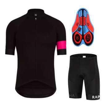 เสื้อจักรยาน / กางเกงปั่นจักรยานRapha (สีดำ)-