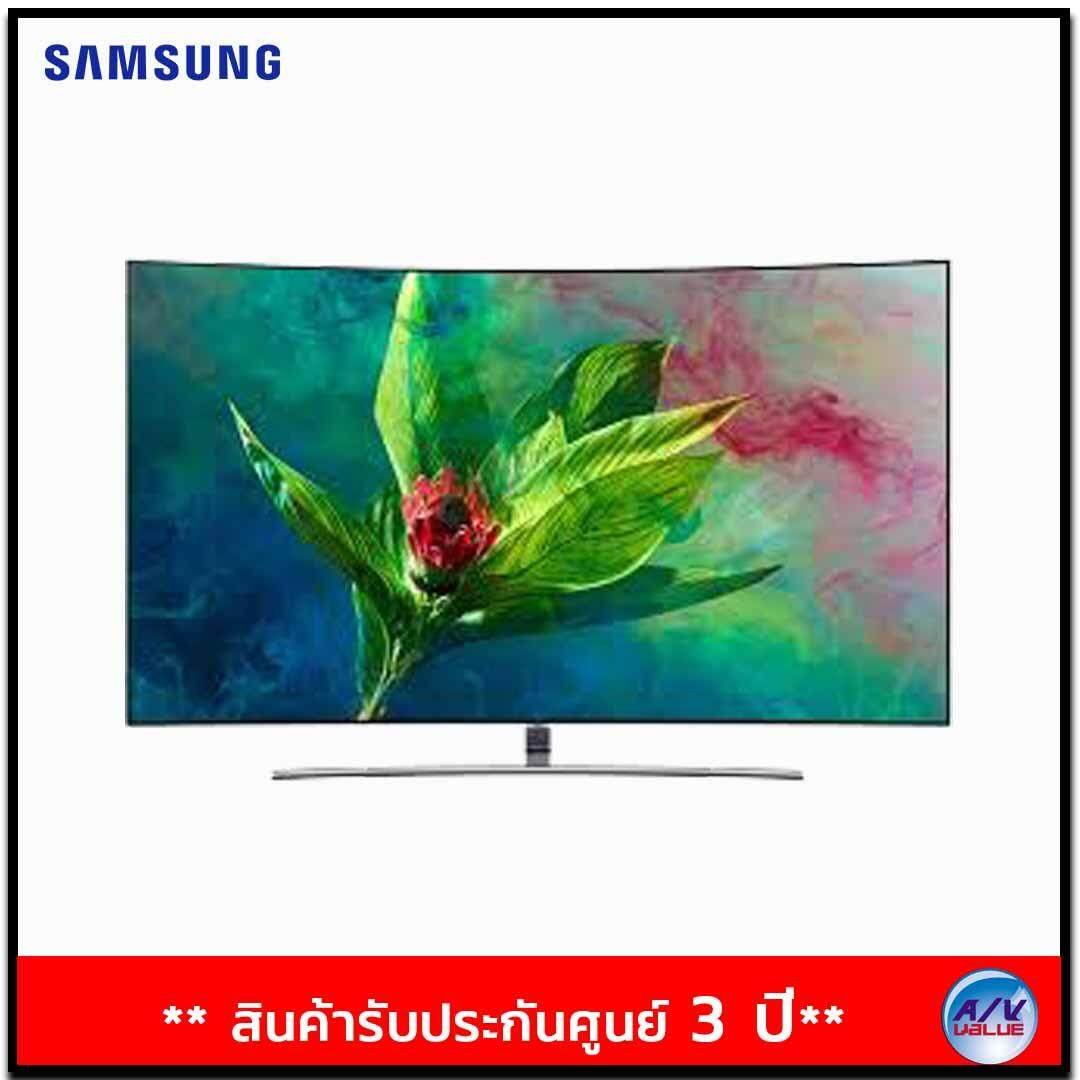 Samsung QLED 4K Curved TV รุ่น QA65Q8CNAK ขนาด 65 นิ้ว Q8C 4K Smart QLED TV  ( 2018 )
