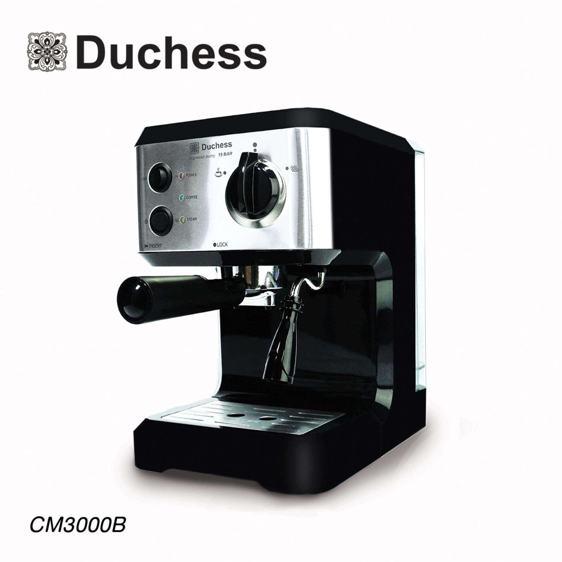 Duchess เครื่องชงกาแฟสด รุ่น CM3000B  - 4d308c798b8897085819cb90ded4f640 - แนะนำเครื่องชงกาแฟชุดเล็ก สำหรับเริ่มต้น