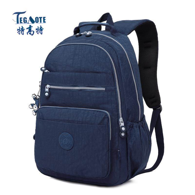 1f90f9d422 TEGAOTE New Women Backpack for Teenage Girls Kipled Nylon Backpacks Mochila  Feminina Female Travel Bagpack Schoolbag